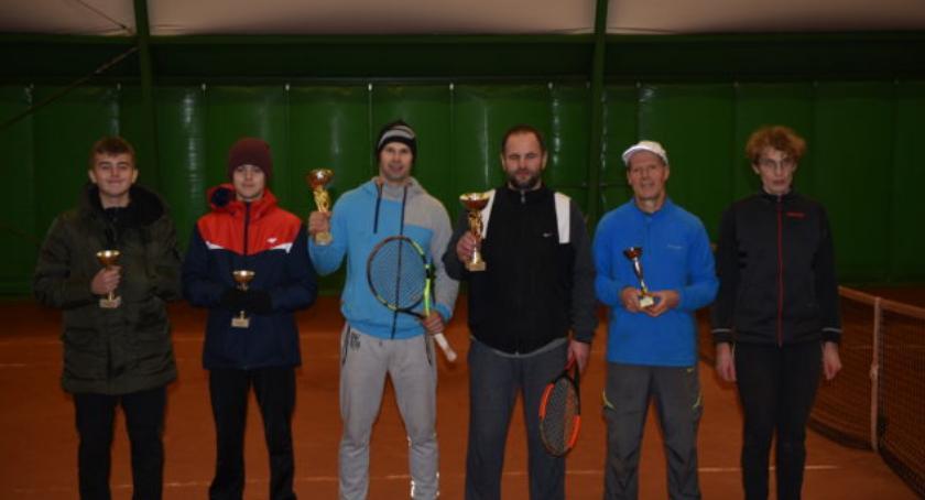 tenis ziemny tenis stołowy badminton, Halowy Turniej Deblowy Tabędz - zdjęcie, fotografia