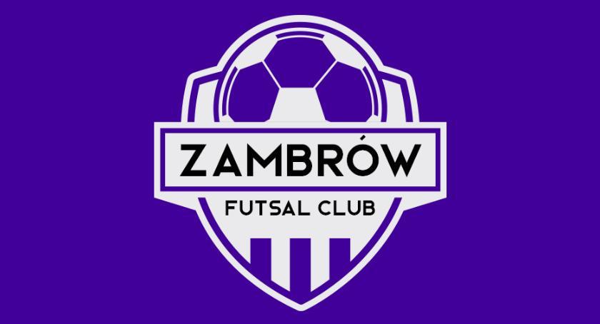 piłka nożna futsal, Dobry zwycięstwo Zambrów inaugurację rozgrywek futsalu - zdjęcie, fotografia