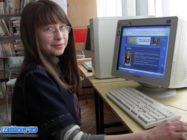 wiadomości lokalne, Uczennica Zambrowa programie Eureko! wiem! - zdjęcie, fotografia