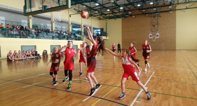 """koszykówka, Zambrowska """"Trójka"""" Finale Igrzysk koszykówce - zdjęcie, fotografia"""