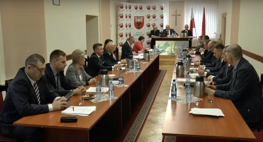 Rada Powiatu Zambrowskiego radni, Dziś sesja Powiatu Zambrowskiego - zdjęcie, fotografia