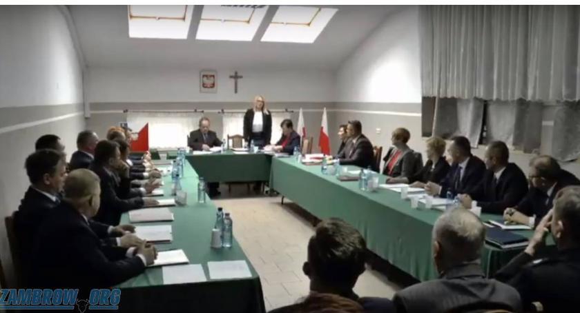Rada Gminy Kołaki radni, sesja Gminy Kołaki Kościelne - zdjęcie, fotografia