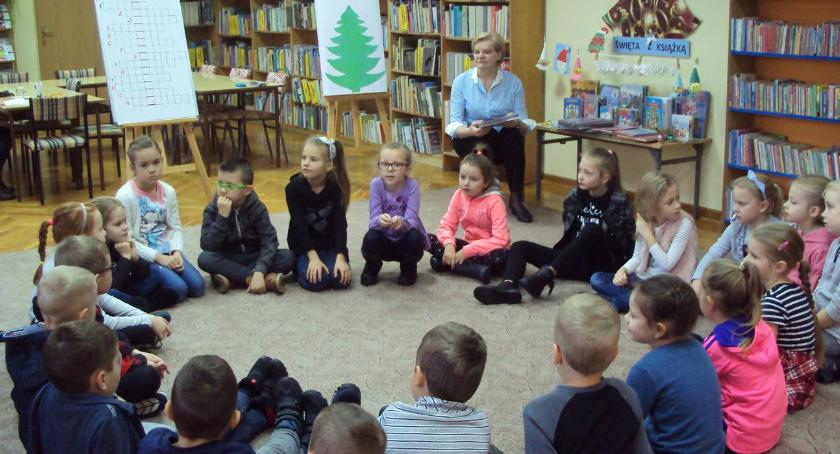 edukacja, Świąteczna atmosfera Oddziale Dzieci - zdjęcie, fotografia