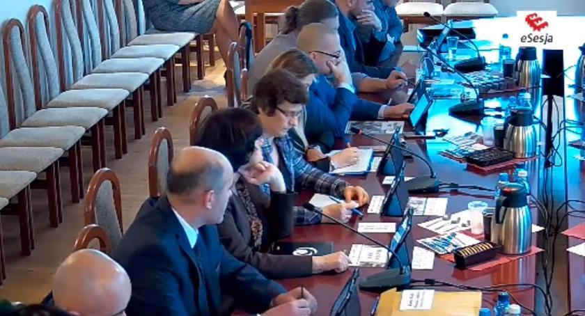Rada Miasta Zambrów radni, sesja Miasta Zambrów - zdjęcie, fotografia