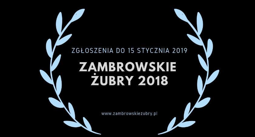Zambrowskie Żubry, Można zgłaszać nominacje Zambrowskich Żubrów - zdjęcie, fotografia