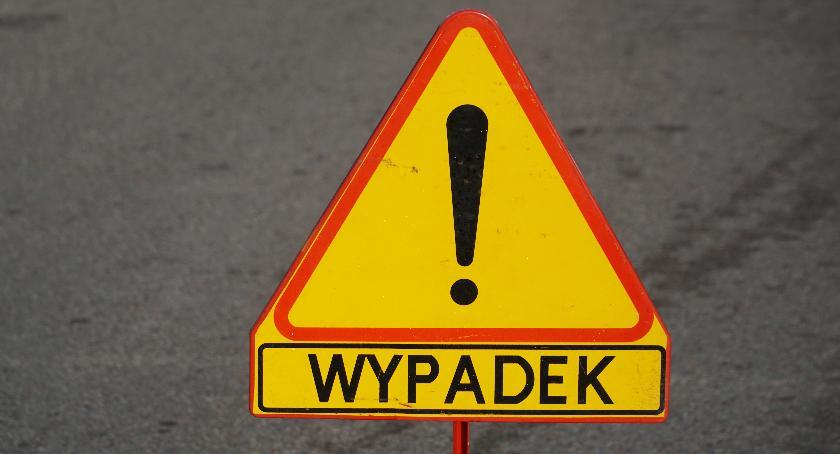 wypadki drogowe , Śmiertelne potrącenie Ostrożnem - zdjęcie, fotografia