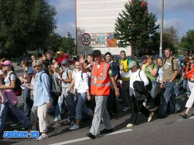 religia, Pielgrzymi drodze Hodyszewa - zdjęcie, fotografia