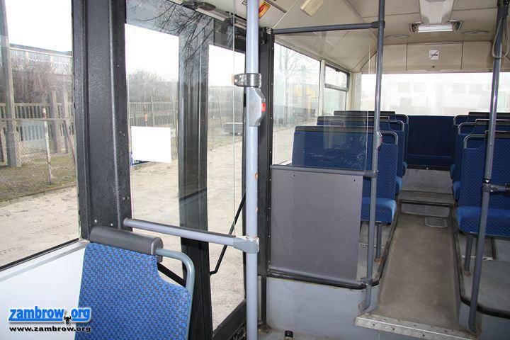 wiadomości lokalne, autobus komunikacji miejskiej Zambrowie - zdjęcie, fotografia