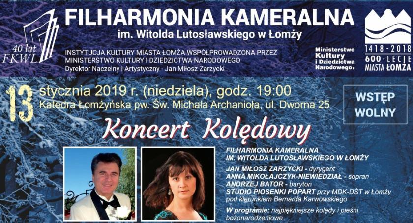 muzyka koncerty, Koncert kolędowy Łomżyńskich Filharmoników - zdjęcie, fotografia