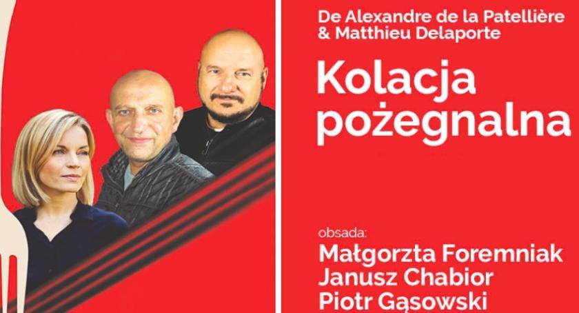"""konkursy, darmowe wejściówki """"Kolację pożegnalną"""" KONKURS - zdjęcie, fotografia"""