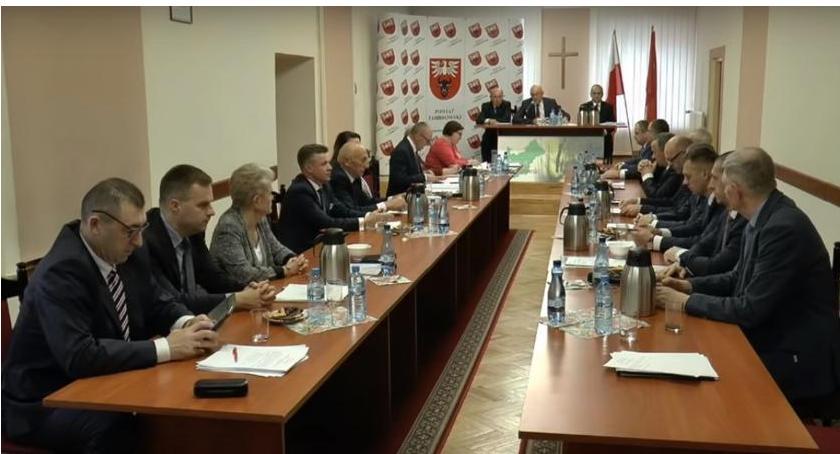 Rada Powiatu Zambrowskiego radni, Jutro sesja Powiatu Zambrowskiego - zdjęcie, fotografia