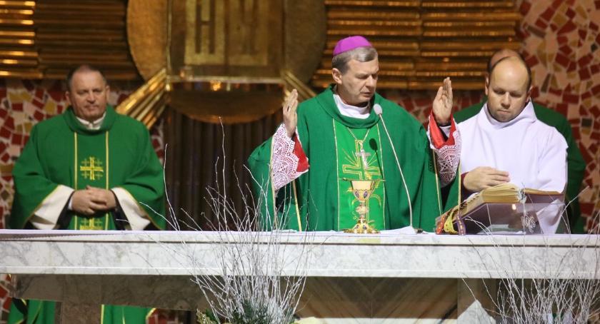 edukacja, Spotkanie biskupa nauczycielami [foto] - zdjęcie, fotografia