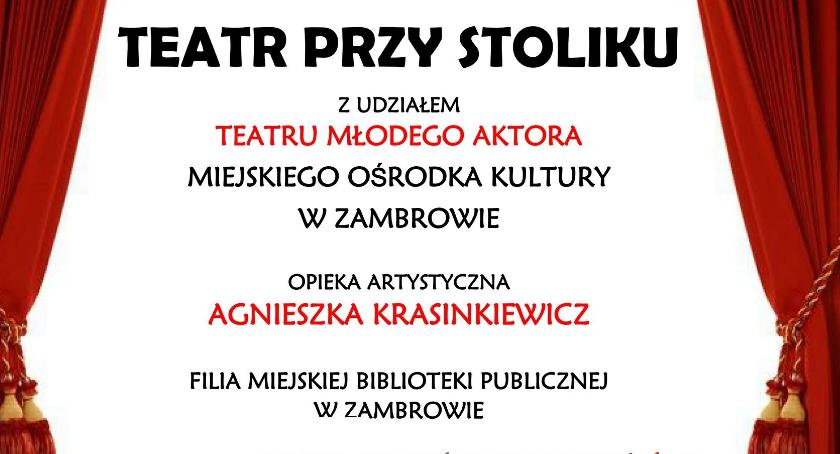 kino film teatr, Dialogi małżeńskie Stefanii Grodzieńskiej Teatrze Stoliku - zdjęcie, fotografia