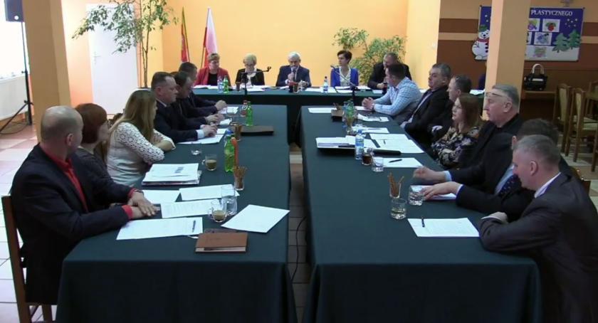 Rada Gminy Szumowo radni, Sesja budżetowa Szumowie - zdjęcie, fotografia