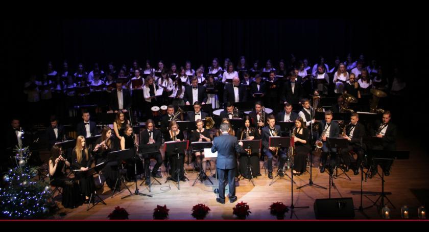 muzyka koncerty, Zapraszamy Koncert Noworoczny Miejskiej Młodzieżowej Orkiestry Dętej - zdjęcie, fotografia