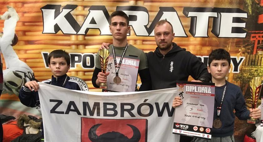 karate i sztuki walki, Międzynarodowy Turniej Karate zambrowskim akcentem - zdjęcie, fotografia