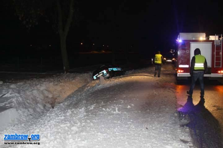 policja, wypadki Białostockiej - zdjęcie, fotografia