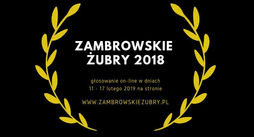 Zambrowskie Żubry, Zagłosuj nominowanych Zambrowskich Żubrów - zdjęcie, fotografia