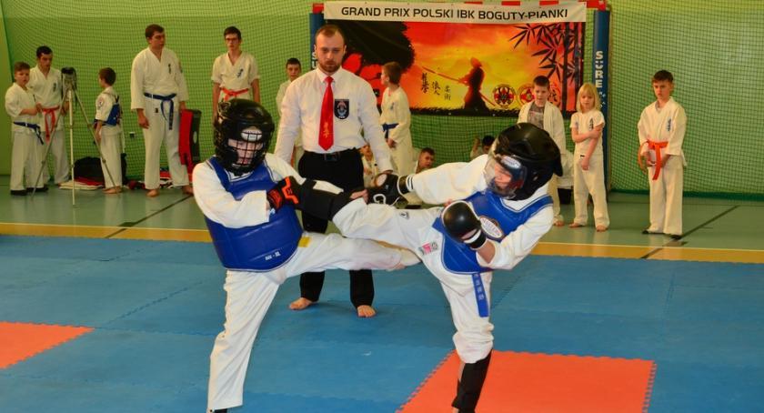 karate i sztuki walki, Międzynarodowy Turniej Karate Grand Polski zambrowskim akcentem - zdjęcie, fotografia