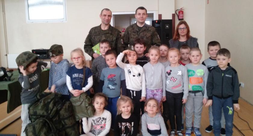 edukacja, Żołnierze Miejskim Przedszkolu - zdjęcie, fotografia