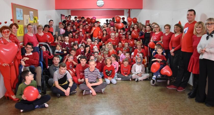 edukacja, Dzień Zakochanych Ośrodku Szkolno Wychowawczym Długoborzu - zdjęcie, fotografia