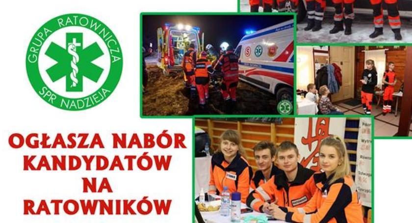 organizacje pozarządowe, rekrutacja zambrowskiego oddziału Grupy Ratowniczej Nadzieja - zdjęcie, fotografia