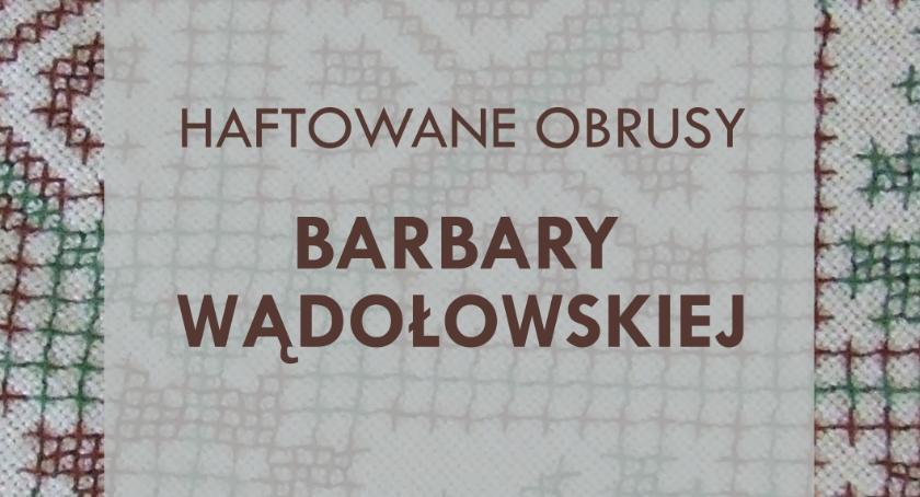 wernisaże spotkania, Niebawem wystawa ręcznie robionych obrusów - zdjęcie, fotografia