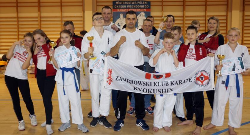 karate i sztuki walki, medale karateków Mistrzostwach Polski Okręgu Wschodniego - zdjęcie, fotografia