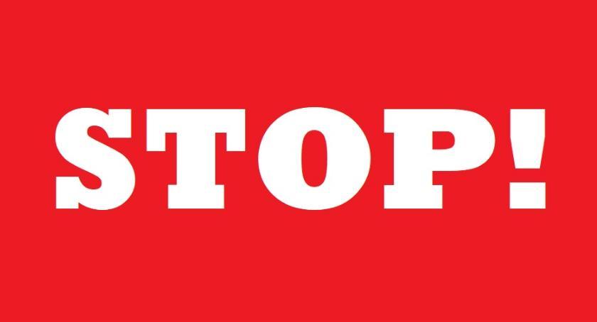 wydarzenia, Zatrzymaj się! więcej! - zdjęcie, fotografia