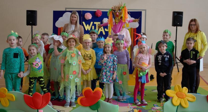 edukacja, Przedszkolaki powitały wiosnę [foto] - zdjęcie, fotografia