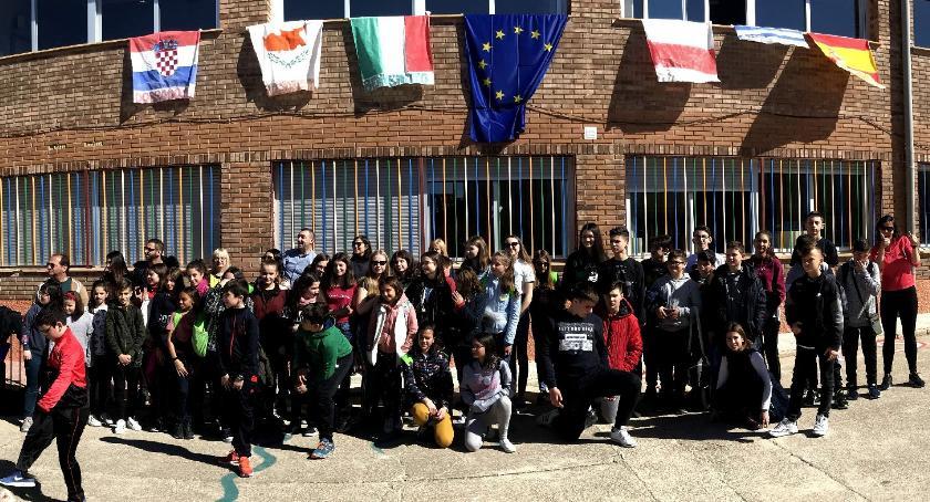 """edukacja, Hiszpańska przygoda uczniów zambrowskiej """"Czwórki"""" - zdjęcie, fotografia"""