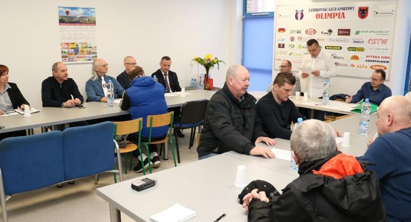 piłka nożna futsal, Walne zebranie sprawozdawcze Olimpii [foto] - zdjęcie, fotografia