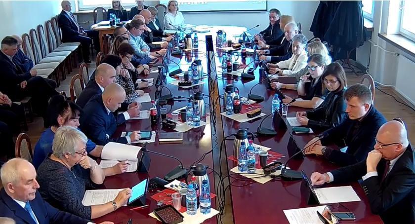 Rada Miasta Zambrów radni, sesja Miasta Zambrów [retransmisja] - zdjęcie, fotografia