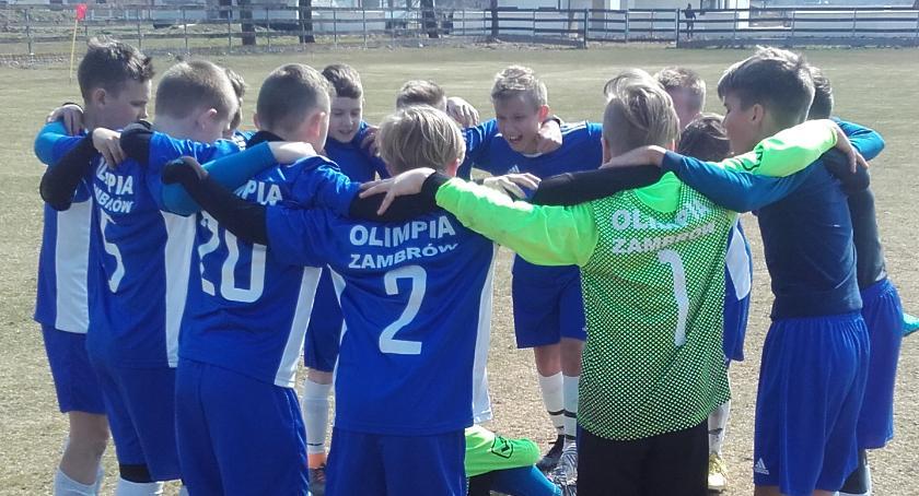 piłka nożna futsal, Wygrana Olimpii inaugurację rundy rewanżowej - zdjęcie, fotografia