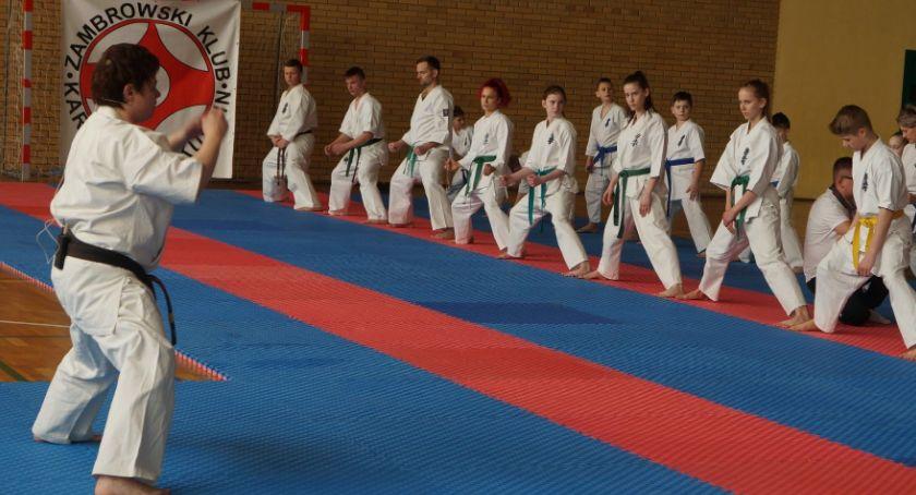 karate i sztuki walki, Mistrzyni Świata przygotowywała karateków mistrzostw narodowych międzynarodowych - zdjęcie, fotografia