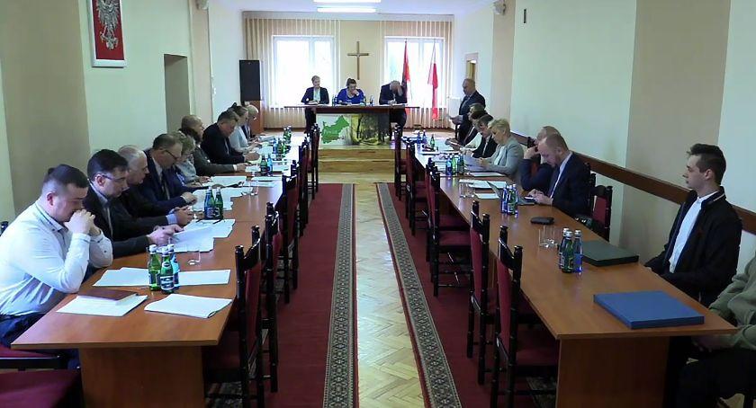 Rada Gminy Zambrów radni, Retransmisja sesji Gminy Zambrów - zdjęcie, fotografia