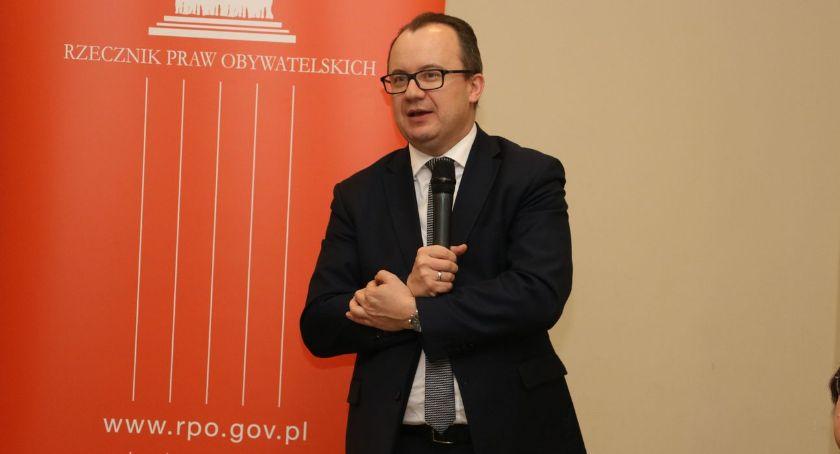wernisaże spotkania, Rzecznik Obywatelskich Bodnar odwiedził Zambrów [foto] - zdjęcie, fotografia
