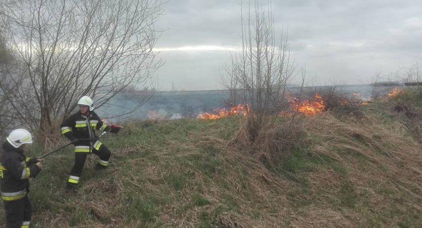 pożary i straż, Sezon wypalanie niestety - zdjęcie, fotografia