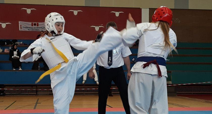 karate i sztuki walki, pucharów karateków Międzynarodowym Turnieju Karate Kyokushin Belgian - zdjęcie, fotografia