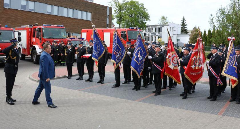 pożary i straż, Święto Straży Pożarnej Zambrowie [foto] - zdjęcie, fotografia