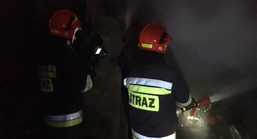 pożary i straż, Niepełnosprawny mężczyzna zginął pożarzedomu - zdjęcie, fotografia