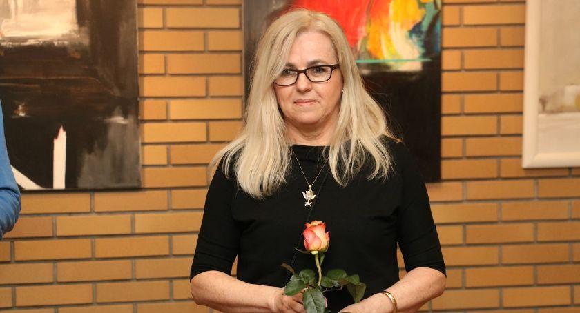wernisaże spotkania, Wystawa Heleny Szczypko Labiryncie [foto] - zdjęcie, fotografia