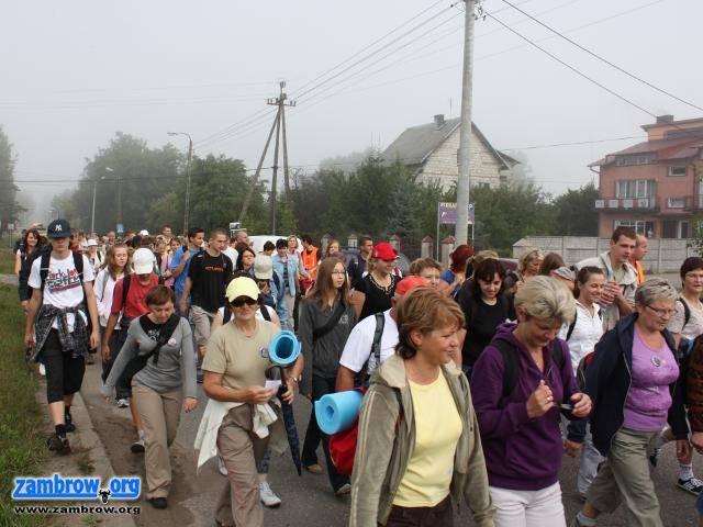 religia, Zambrowska Piesza Pielgrzymka drodze Hodyszewa - zdjęcie, fotografia