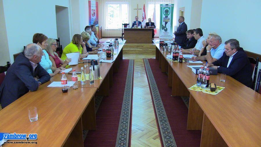 samorząd, sesja Gminy Zambrów [retransmisja] - zdjęcie, fotografia