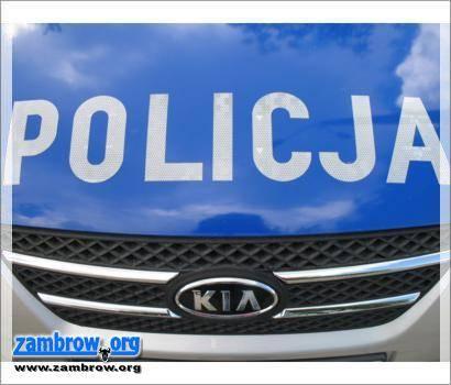 """policja, """"Bezpieczna droga"""" powiecie zambrowskim - zdjęcie, fotografia"""