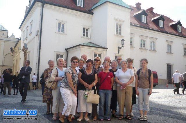 społeczeństwo, Wzięli udział pielgrzymce Jasną Górę - zdjęcie, fotografia