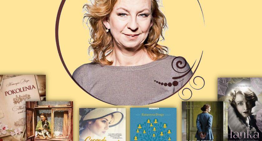 książki publikacje, Biblioteka zapraszają spotkanie autorskie Katarzyną Drogą - zdjęcie, fotografia