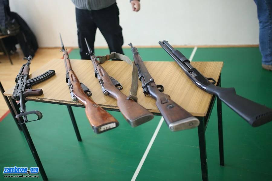 edukacja, Wystawa broni palnej [foto] - zdjęcie, fotografia