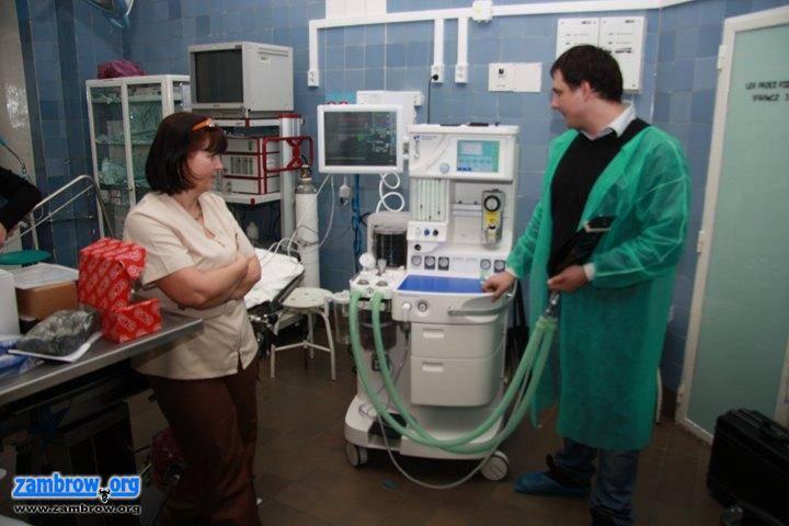 inwestycje, Kolejny nowoczesny sprzęt trafił zambrowskiego szpitala - zdjęcie, fotografia