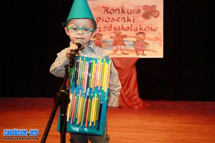 kultura_, Przedszkolaki śpiewały piosenki [foto] - zdjęcie, fotografia